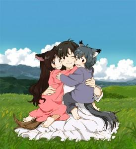Les enfants loups. Ame & Yuki - Mamoru Hosoda
